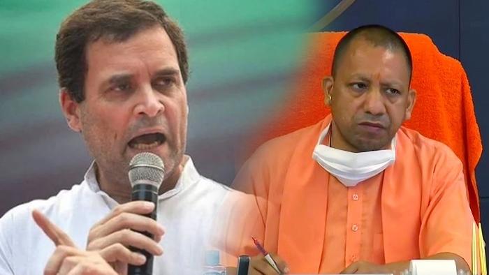 CM योगी पर फिर भड़के राहुल, ट्विट कर सुनाई खरी-खरी