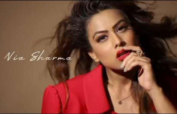 टीवी एक्ट्रेस निया शर्मा ग्लैमरस फोटोशूट वीडियो से सोशल मीडिया पर छाई