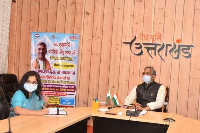 सीएम त्रिवेंद्र सिंह रावत ने पंचायतों को प्रदान की 62.21 करोड़ की धनराशि