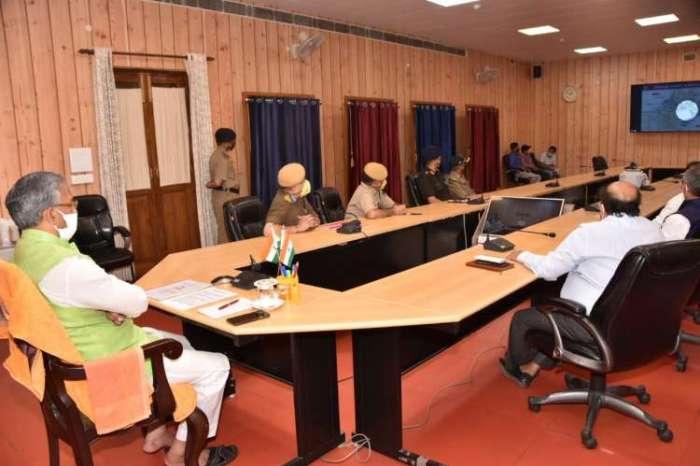 रक्षा मंत्री राजनाथ सिंह ने 44 पुलों को किया राष्ट्र को समर्पित, वीडियो कान्फ्रेंसिंग से सीएम त्रिवेंद्र सिंह रावत भी हुए शामिल
