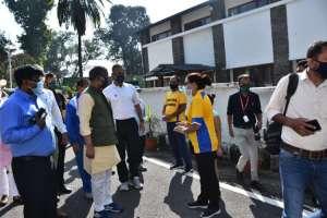 WhatsApp Image 2020 10 18 at 11.15.57 AM 2 मुख्यमंत्री की पहल पर 'कोरोना वारियर से विनर' आयोजित