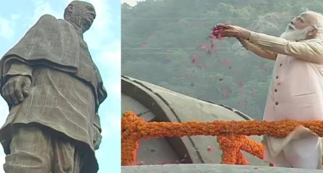 पीएम मोदी ने लौह पुरूष सरदार वल्लभ भाई पटेल की जयंती पर उन्हें दी श्रद्धांजलि, देशवासियों को दिलाई एकता की शपथ