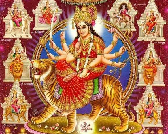 नौ दिन मां दुर्गा के नौ स्वरूपों की होगी उपासना