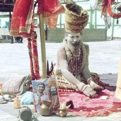 naga baba viral photo
