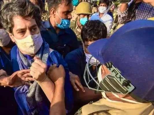 BJP नेता चित्रा वाघ प्रियंका गांधी से पुलिस की बदसलूकी पर भड़की, कांग्रेस ने की तारीफ