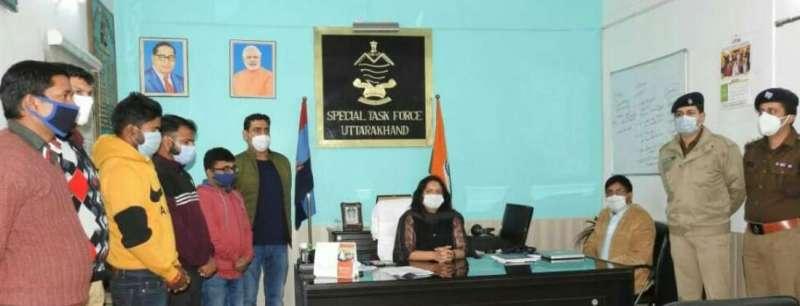 हक जदतगमा फर्जी आईडी बनाकर अवैध खनन को देते थे अंजाम, पुलिस ने धरदबोचा