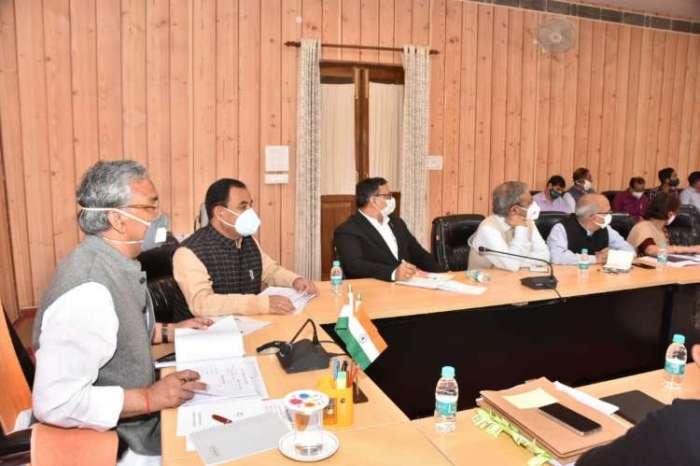 सीएम त्रिवेंद्र सिंह रावत ने की वन, सेवायोजन एवं कौशल विकास, श्रम तथा आयुष विभाग की समीक्षा