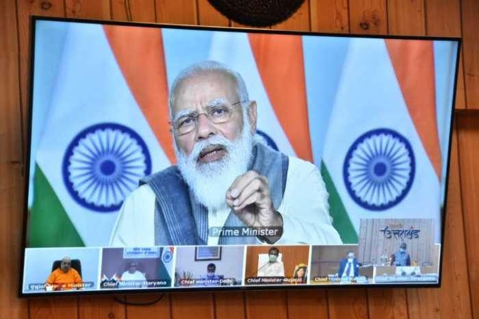 पीएम ने की सभी मुख्यमंत्रियों के साथ VC, सीएम त्रिवेंद्र ने हरिद्वार में कुम्भ मेले पर की बात