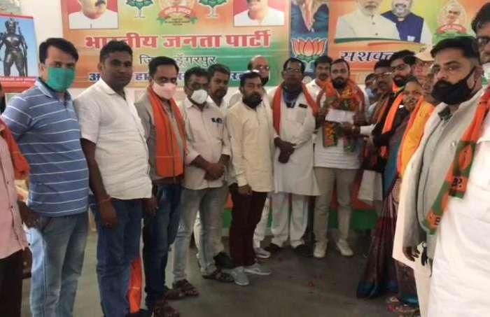 पंचायतीराज चुनाव से पहले कांग्रेस को झटका, BJP में शामिल हुए राजेश पाटीदार