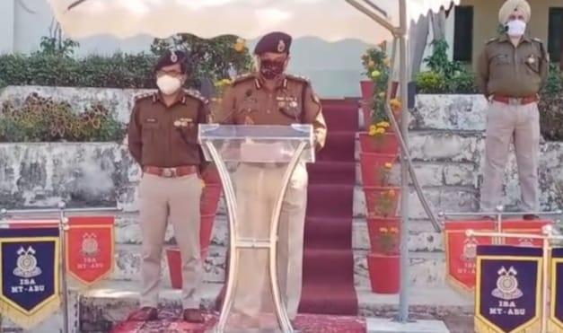 आंतरिक सुरक्षा अकादमी केंद्र रिजर्व पुलिस बल ने मनाया संविधान दिवस, पुलिस महानिदेशक ने पढ़कर सुनाई प्रस्तावना