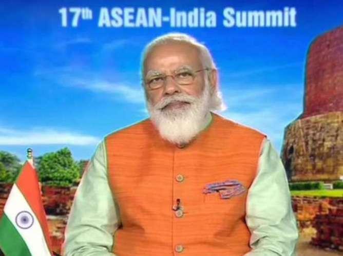 asean पीएम ने किया एलान, कोविड-19 आसियान रिस्पॉन्स फंड में 10 लाख डॉलर देगा भारत