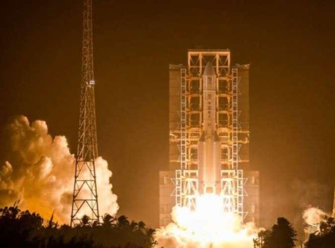 china kaunches change 5 चीन ने लॉन्च किया 'चांग ई-5', इकट्ठा करेगा चंद्रमा से नमूने