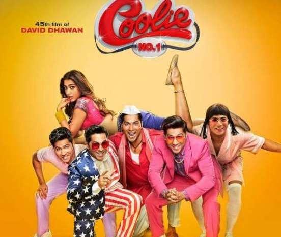 इस दिन रिलीज होगी COOLIE NO.1, वरुण और सारा ने शेयर किया पोस्टर