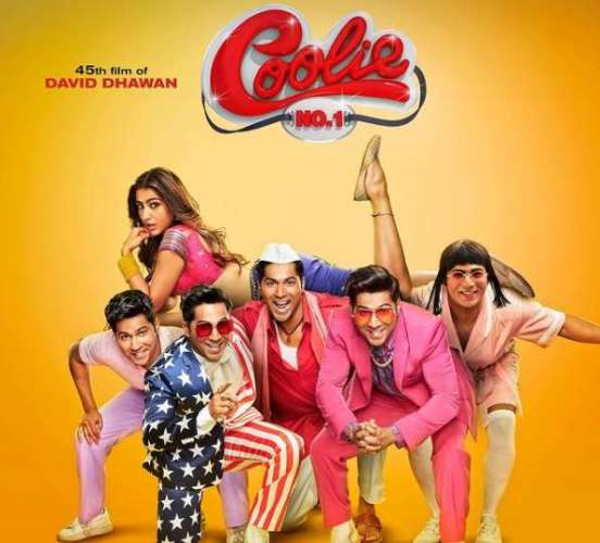 coolie no.1 इस दिन रिलीज होगी COOLIE NO.1, वरुण और सारा ने शेयर किया पोस्टर