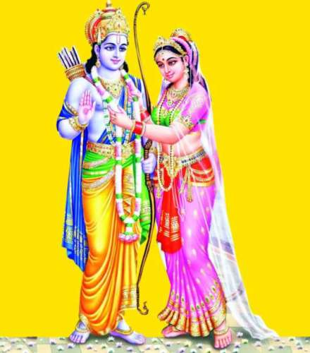 lord ram and mata sita