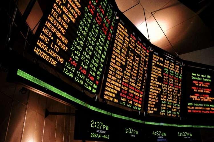 Sensex trading at open market