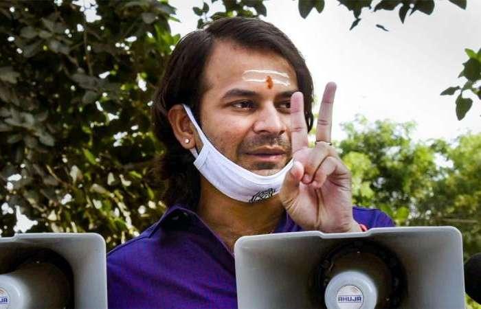 तेज प्रताप यादव ने 20 हजार से ज्यादा वोटों से जीती हसनपुर सीट