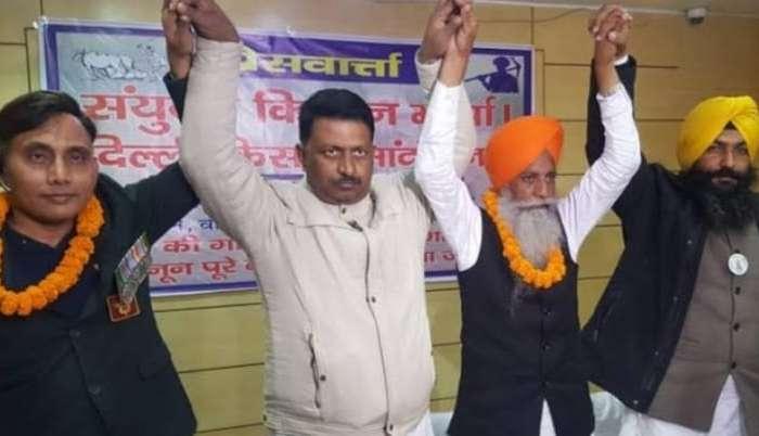 किसान आंदोलन को हवा देने दिल्ली से पटना पहुंचे किसान नेता, जानें बिहार के कृषि ने क्या कहा-