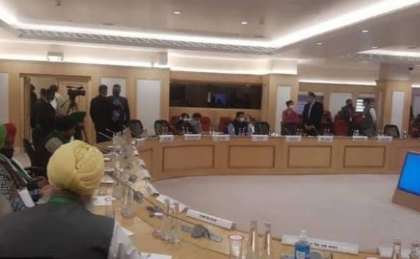 किसानों के समर्थन में आया भारतीय परिवहन संघ, बैठक में किसानों ने दोहराई अपनी मांग