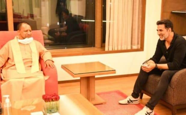 86f36c84 bd85 45e8 8bcb 2aff96f2c219 अभिनेता अक्षय कुमार ने सीएम योगी आदित्यनाथ से की मुलाकात, जानिए किन बिषयों पर हुई चर्चा