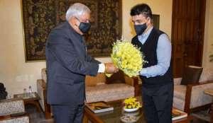 BCCI president sourav ganguly meet governor jagdeep dhankhar क्या बीजेपी में शामिल होने वाले हैं BCCI अध्यक्ष सौरव गांगुली? राज्यपाल से मुलाकात के बाद कयास तेज!