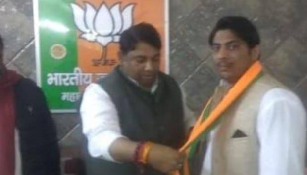 बीजेपी में शामिल हुआ शाहीन बाग में गोली चलाने वाला कपिल गुर्जर, भाजपा को बताया हिंदुत्व के लिए काम करने वाली पार्टी