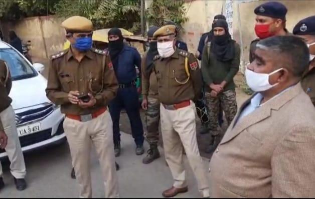 चुनाव के लिए कराए गए सुरक्षा के कड़े इंतजाम, 11 पुलिस सुपरवाइजरी अधिकारियों के साथ 1850 पुलिसकर्मी संभालेंगे मोर्चा