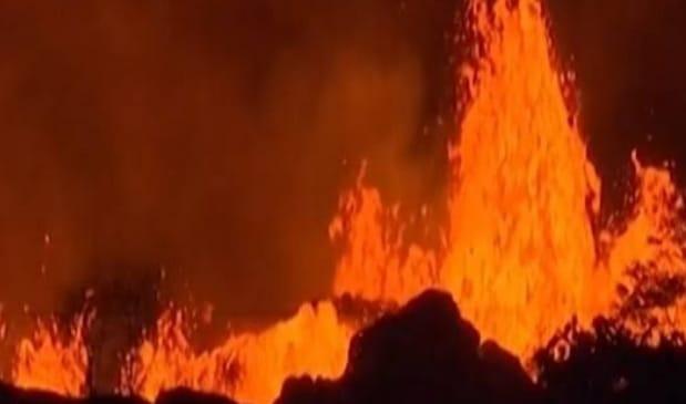 किलाउआ ज्वालामुखी हुआ बेहद उग्र, यूएस जियोलॉजिकल सर्वे ने जारी किया रेड अलर्ट