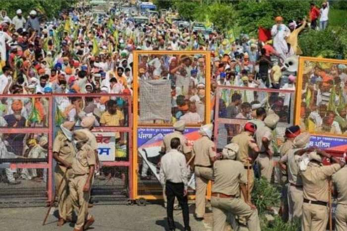 किसानों के आंदोलन का 12वां दिन, तमाम राजनीतिक दे रही समर्थन