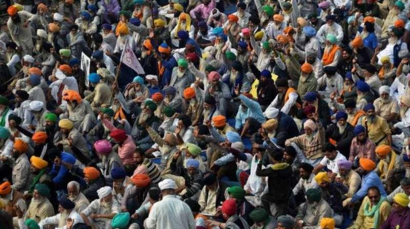 farmers protest 1 किसान आंदोलन का 23वां दिन, आज मध्यप्रदेश के किसानों से पीएम करेंगे संवाद