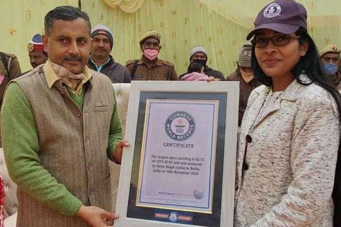 उत्तर प्रदेश की नेहा ने गिनीज बुक में दर्ज करवाया नाम, 8 बार प्रयास करने के बाद हुई सफल