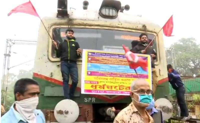 maharashtra भारत का असरः महाराष्ट्र और ओडिशा में रोकी गई ट्रेनें, आंध्र प्रदेश में भी प्रदर्शन