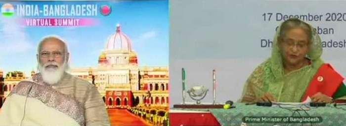 55 साल बाद भारत-बांग्लादेश का ये रेल मार्ग बहाल, PM मोदी-शेख हसीना ने किया उद्घाटन